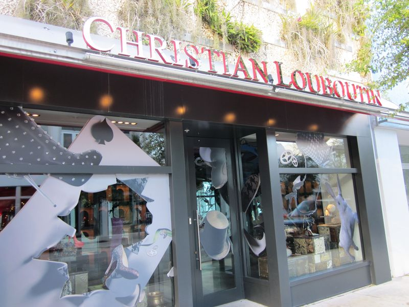christian louboutin design district