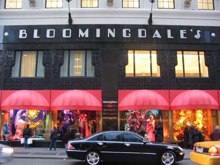 Bloomingdale's, the venerable New York City department store is opening two